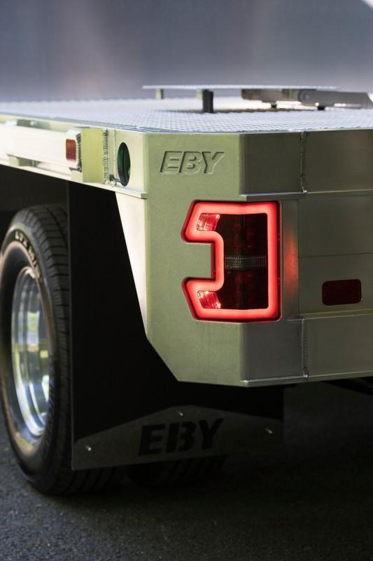"""EBY 11' x 97 1/4"""" Big Country Flatbed"""