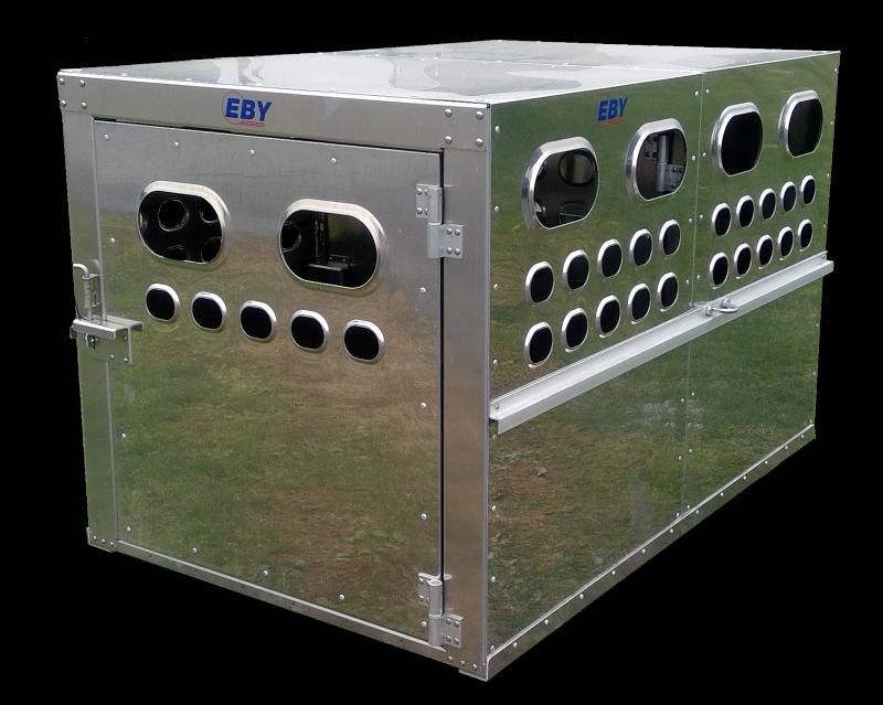 """EBY Livestock Box 8'L x 4'W x 46""""T"""
