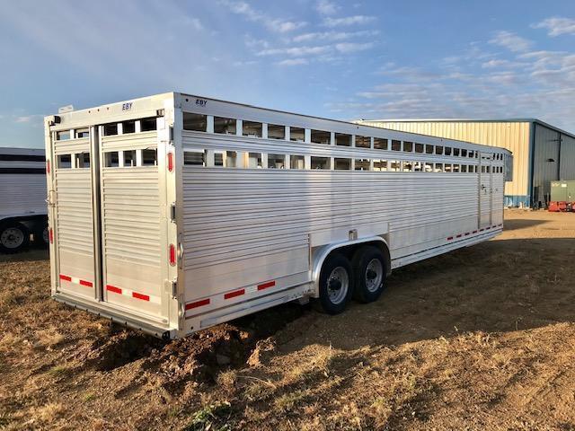 2020 EBY Ruff Neck 32' x 8' Livestock Trailer