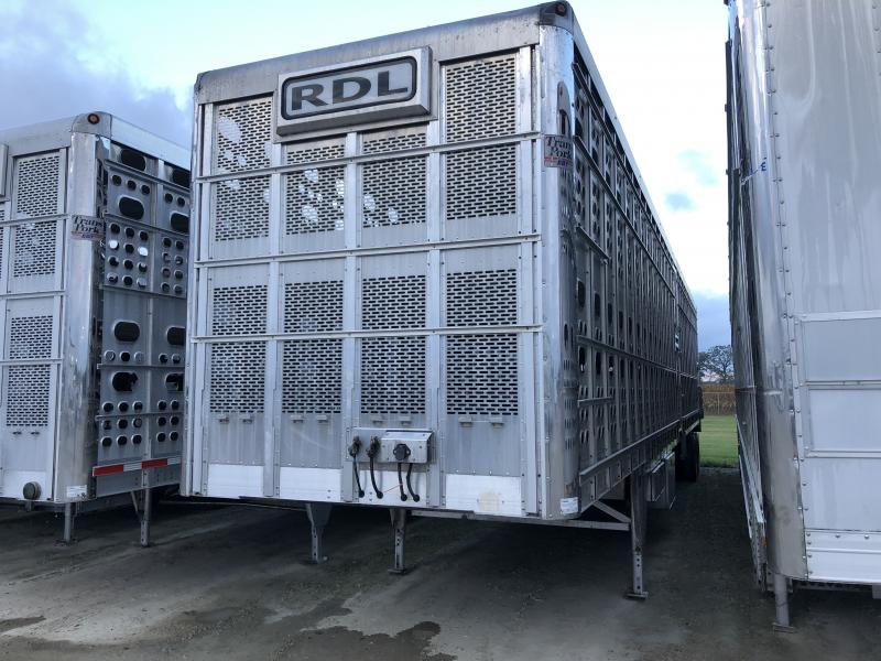 "USED 2017 EBY 53' x 102"" x 13'6"" TRANSPORK  Livestock Semi Trailer"