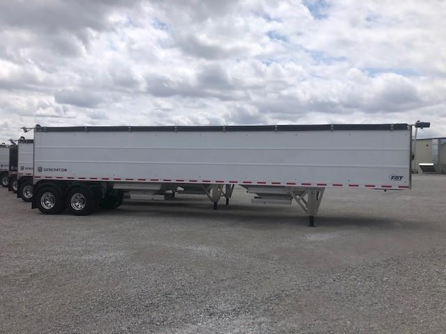 2021 EBY Generation Grain Trailer 42x96x72 White Founder Pkg - Field Clearance  Semi Grain Trailer