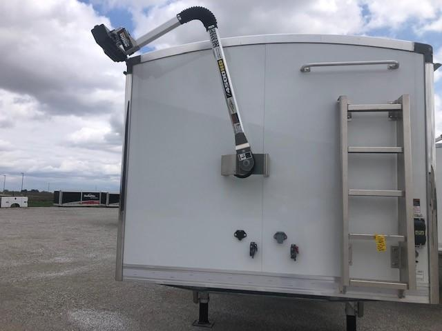 2021 EBY Generation Grain Trailer 42x96x72 White Founder Pkg - Field Clearance  Semi Grain Trailer