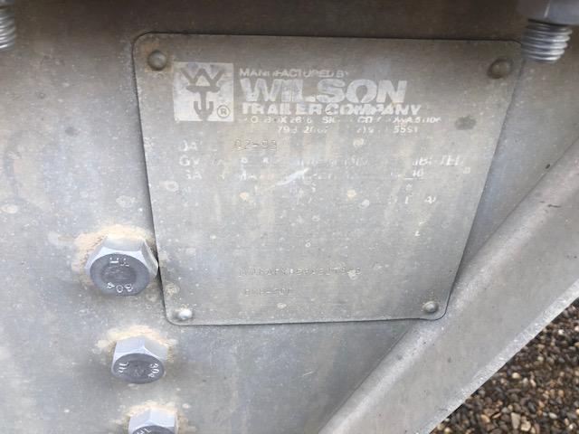 1993 Wilson Trailer Company Semi Trailer Grain Hopper