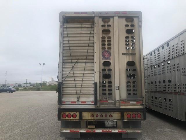 """2006 Wilson 53'x102""""x13'6"""" Spread 6"""" Drop Floor Livestock"""