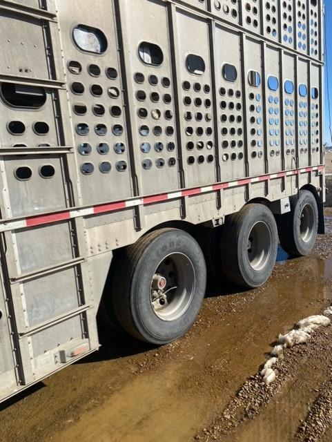 2012 EBY Bull Ride Livestock Trailer