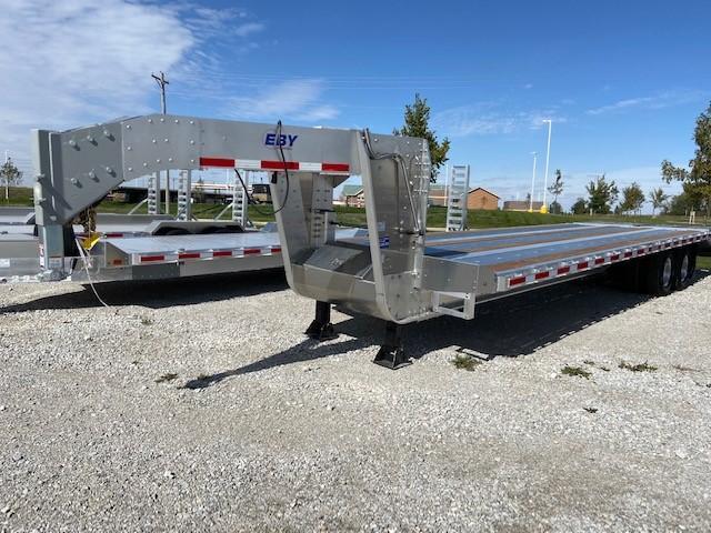 2021 EBY 25' + 5' Equipment Trailer 10k axles