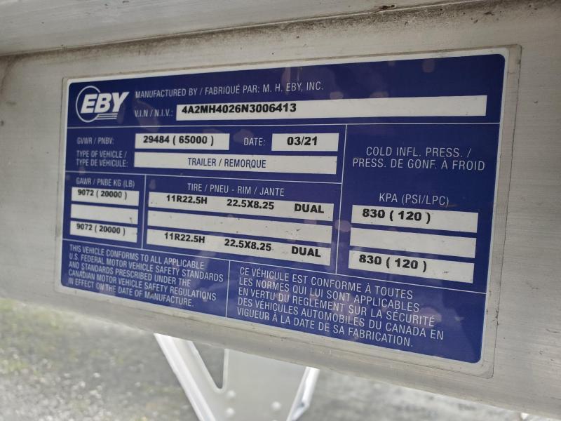 2022 EBY 40x96x72 Generation Grain Hopper
