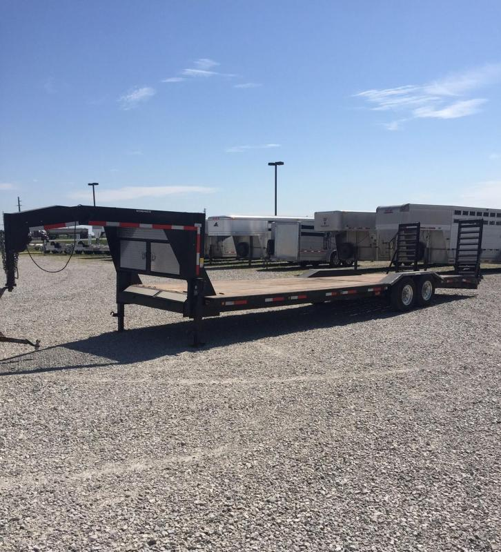 2010 NOMANCO Low profile GN Equipment Trailer