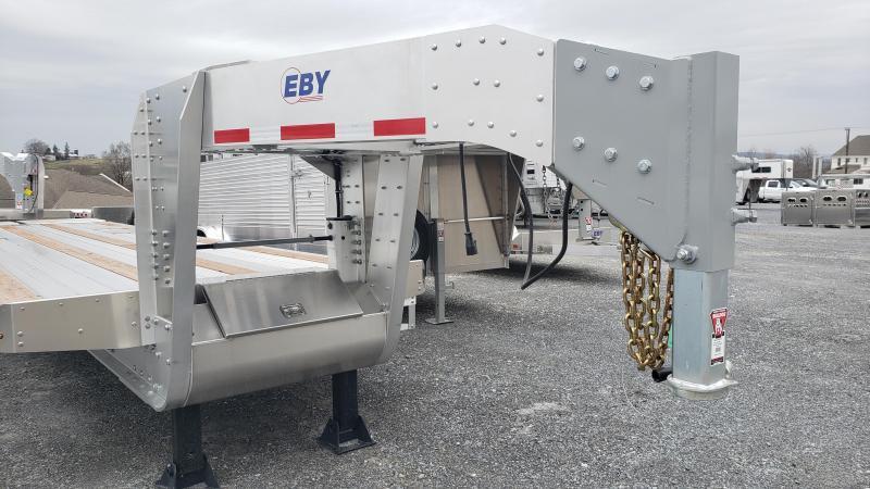 "2020 EBY 25'+5' x 102"" Equipment Gooseneck Trailer"