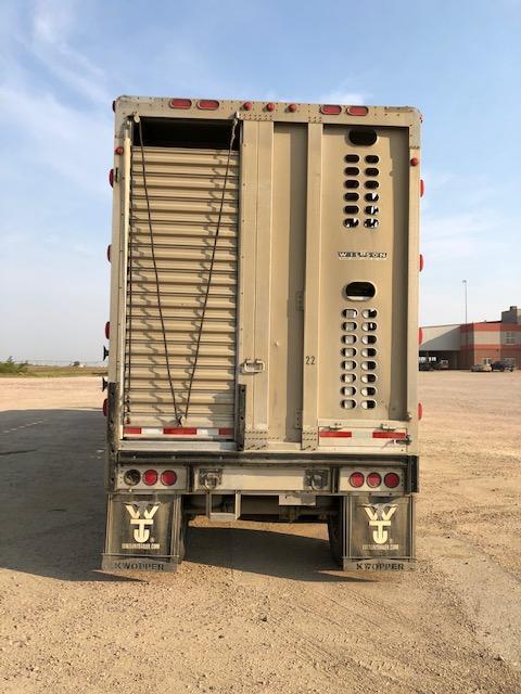 2012 Wilson 53' Hog Friendly Combo Tri Axle