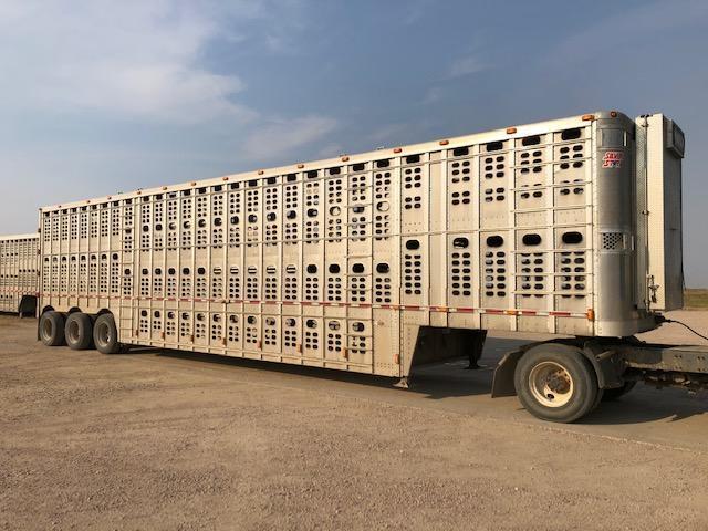 2012 Wilson Trailer Company Tri Axle Livestock