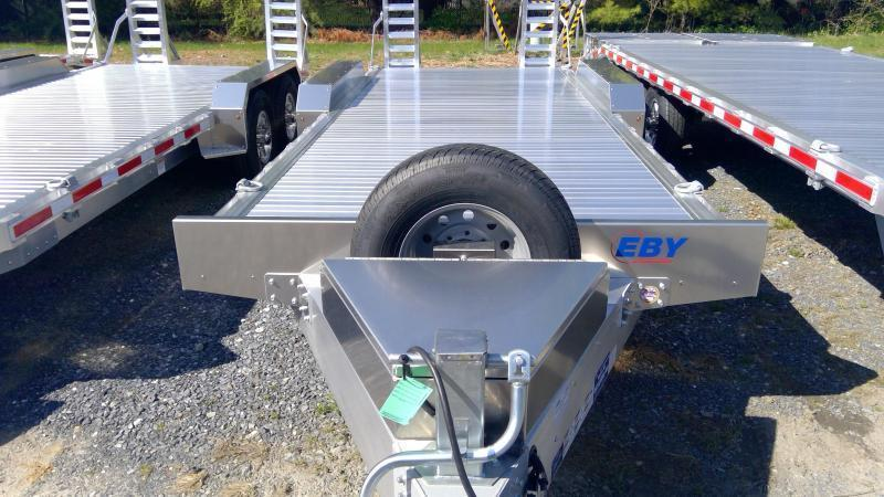 2020 EBY 20' Low Pro Equipment Trailer