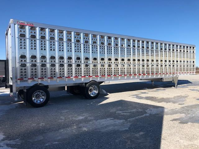 "2021 53' x 102"" EBY Transpork Hog Friendly Livestock Semi Trailer"