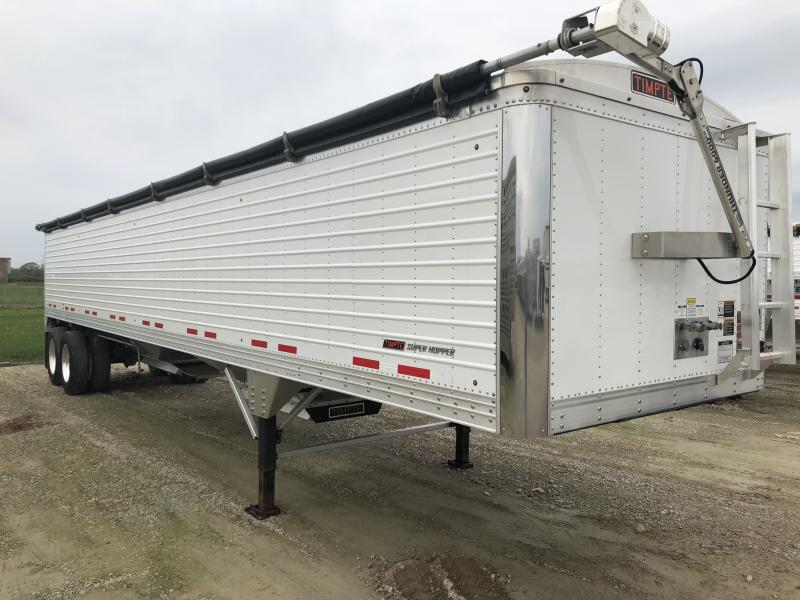"USED 2018 Timpte 40' X 96"" X 66"" Grain Hopper Trailer"