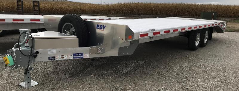 """2021 EBY 24'6""""x102"""" Deckover Tradesman- 50/50 Ramps"""