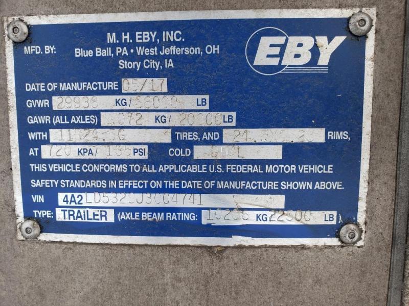 "2018 EBY Bull Ride 53'x102""x13'6"" Spread"