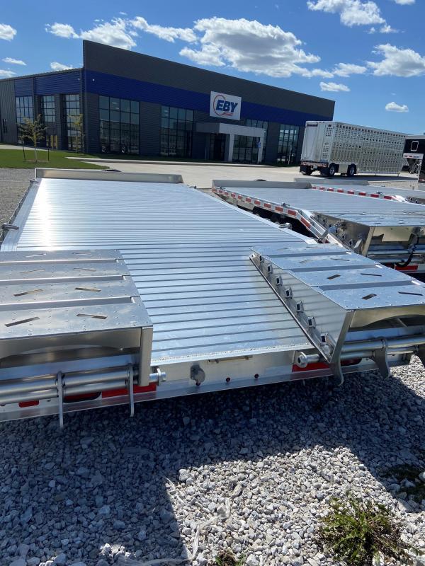 "2021 EBY 20'x102"" Deck Over Equipment Trailer- 1/3 Ramps"