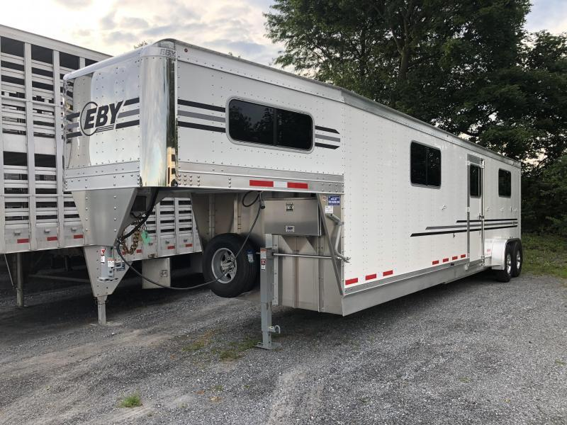 2021 EBY Victory 4 Horse Head to Head Trailer