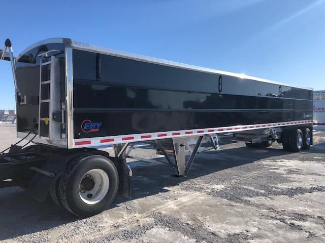"2021 EBY Generation Grain Trailer 42' x 96"" x 66"" Black Charter Pkg - Field Clearance  Semi Grain Trailer"
