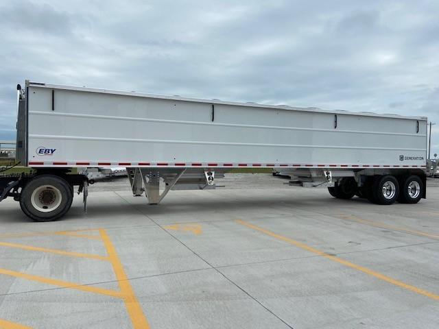 "2021 EBY Generation 42'x96""x72"" White-Charter Package Grain Trailer"