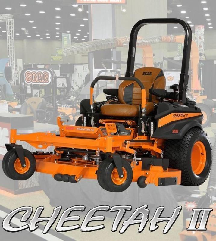 "2020 61"" Scag Cheetah II 37hp"