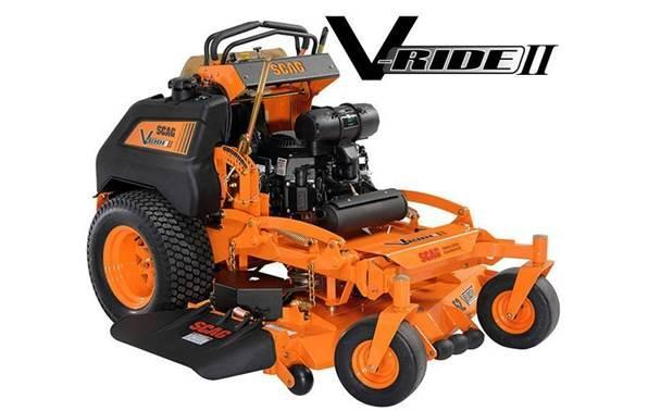 2018 Scag Power Equipment SVRII-61V-29CV-EFI