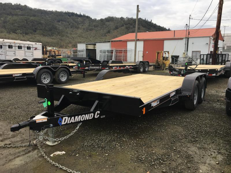 2020 Diamond C GTF235 General Tandem Flatbed Carhauler 16x83