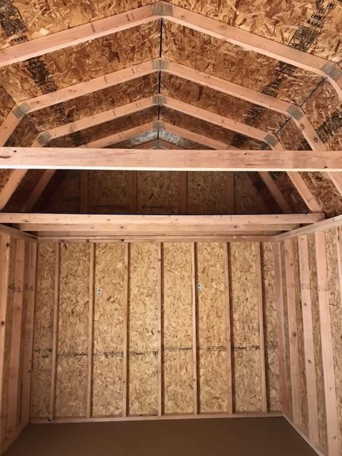 2021 Old Hickory WSLBX 10X20 SIDE LOFTED BARN SHED