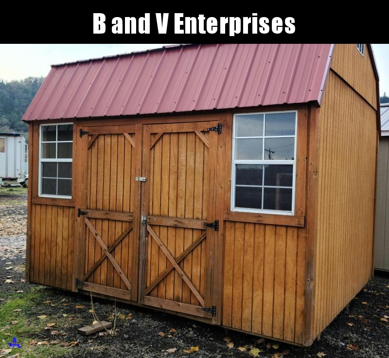 2016 USED Old Hickory WSLBX 10X12 SIDE LOFTED BARN SHED