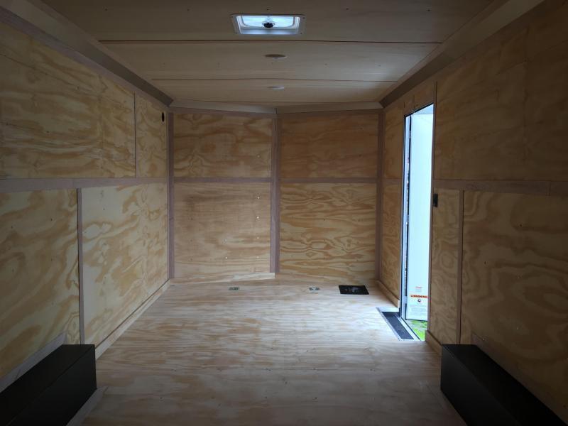 2021 Continental Cargo Car hauler VHW8520TA2 8.5 X 20 Enclosed Cargo Trailer