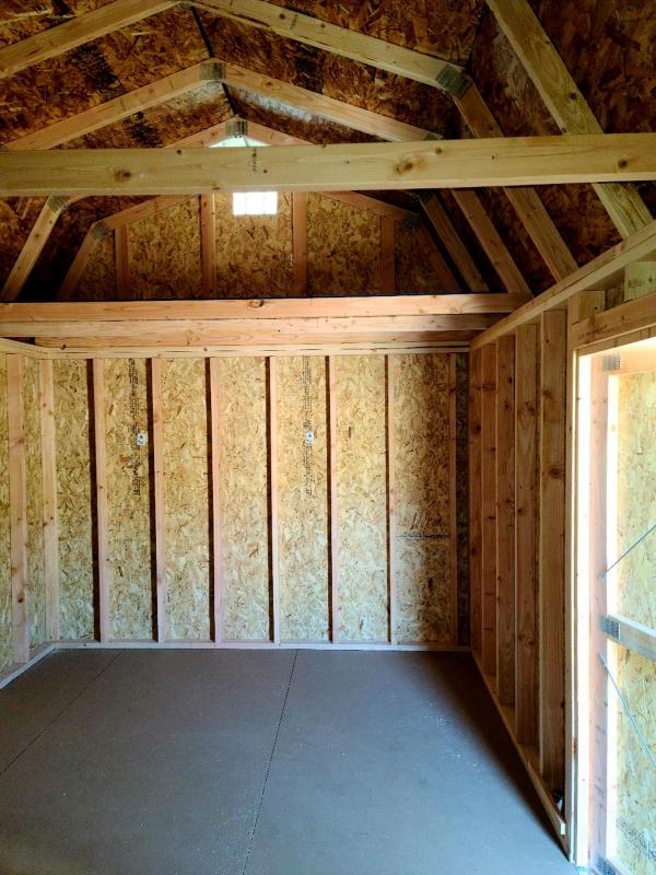 2021 Old Hickory WSLBX 10x20 LOFTED BARN SHED