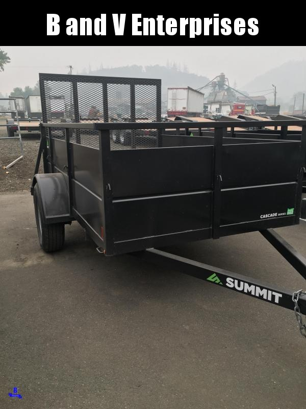 2017 Summit 5X8 Utility Trailer