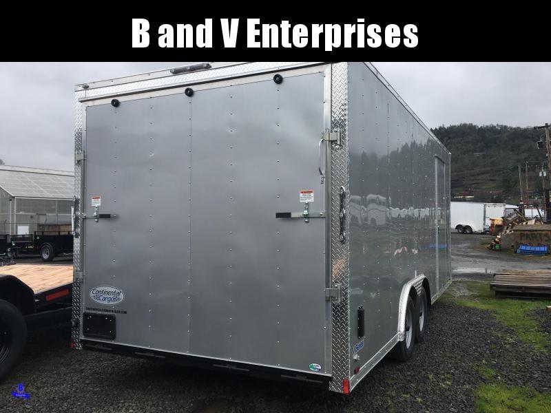 2021 Continental Cargo Car hauler VHW8520TA2 8.5 X 20 Enclosed Cargo Trailer #LF719713