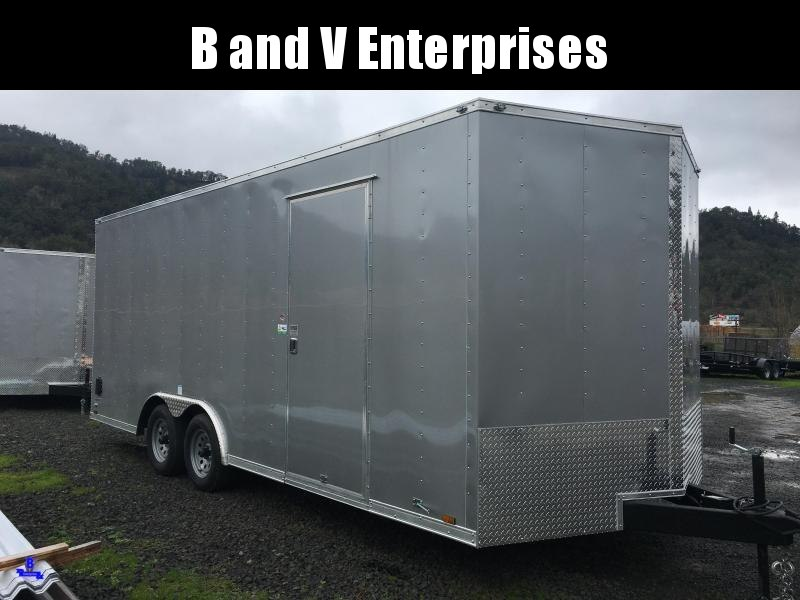 2021 Continental Cargo Car hauler VHW8520TA2 8.5 X 20 Enclosed Cargo Trailer #LF719713