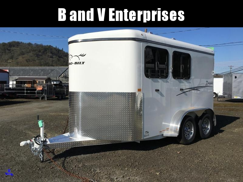 2021 Thuro-Bilt 2H Renegade Horse Trailer