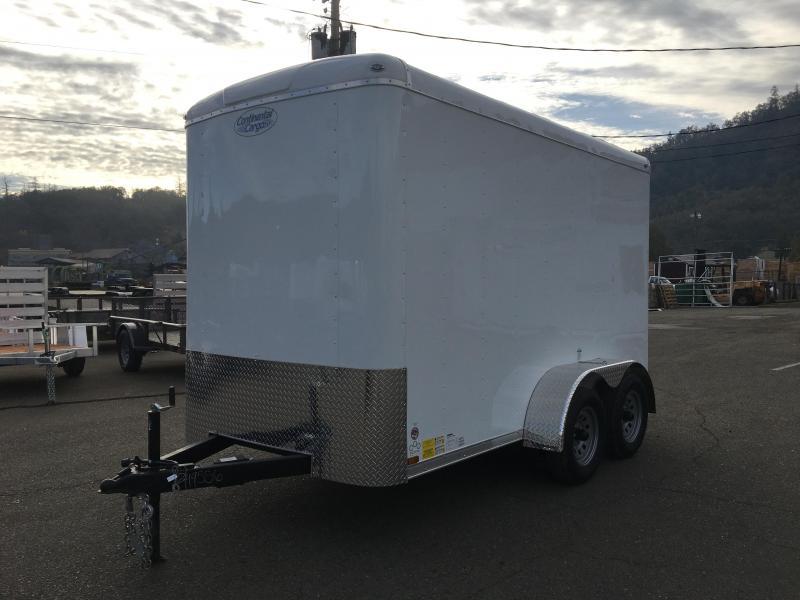 2020 Continental Cargo TW612TA2 TAILWIND 6X12 Enclosed Cargo Trailer #LF719556