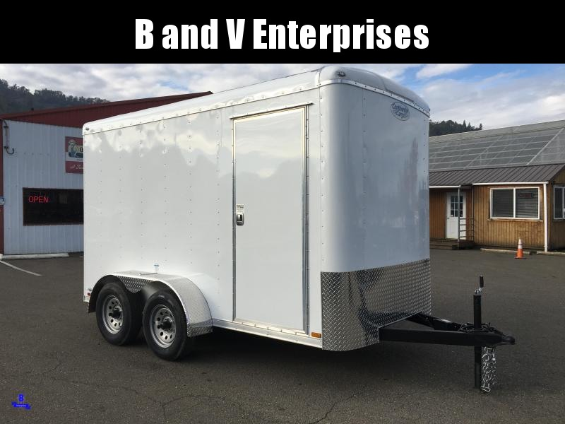 2020 Continental Cargo TW612TA2 TAILWIND 6X12 Enclosed Cargo Trailer #LF719556