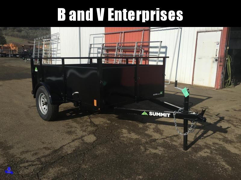 2021 Summit AU510SA-SR ALPINE 5X10 Utility Trailer