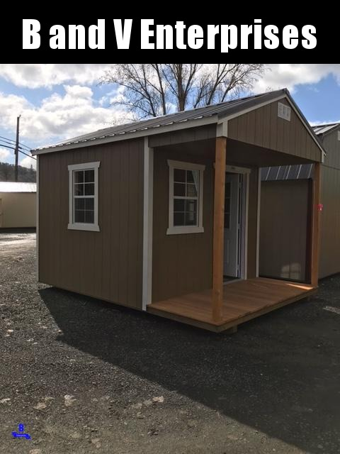 2021 Old Hickory 10x14 WPH PLAYHOUSE PACKAGE Barn Shed