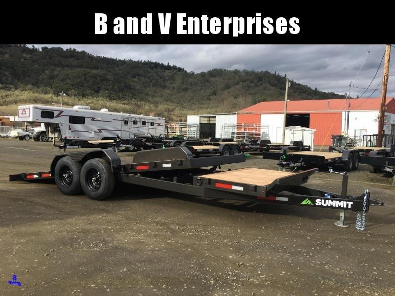 2020 Summit Cascade CU720TA4 14K Equipment Trailer