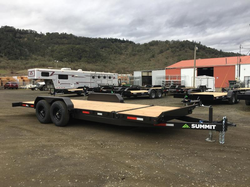 2020 Summit Cascade CU720TA4 14K Equipment Trailer