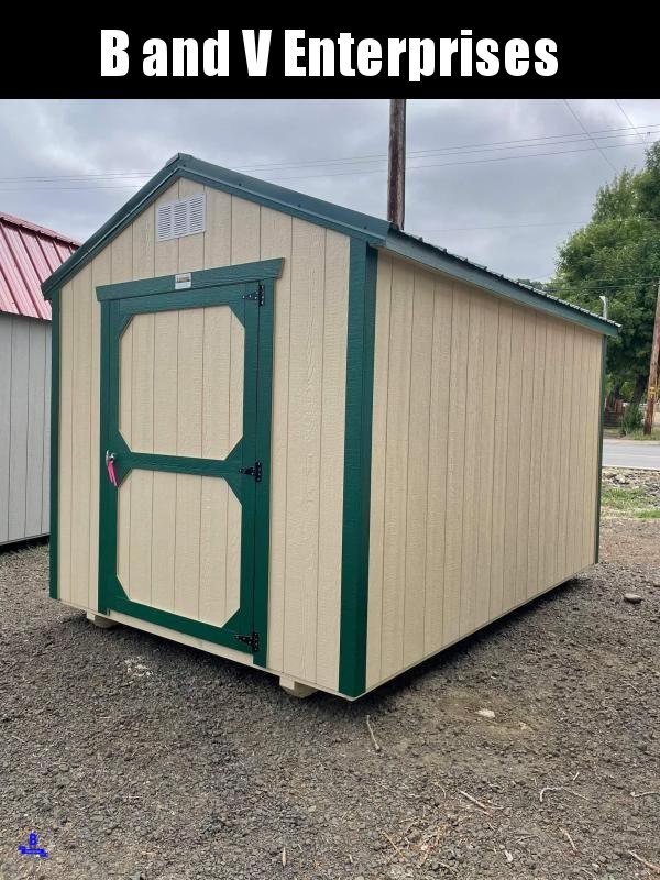 2021 Old Hickory WUT 8 X 12 UTILITY BARN SHED