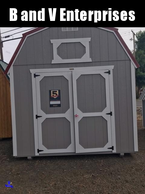 2021 Old Hickory WLBX 10X12 LOFTED BARN SHED