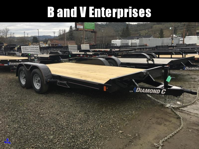2020 Diamond C Trailers GTF235 16X83 Flatbed Car / Racing Trailer #L1222624