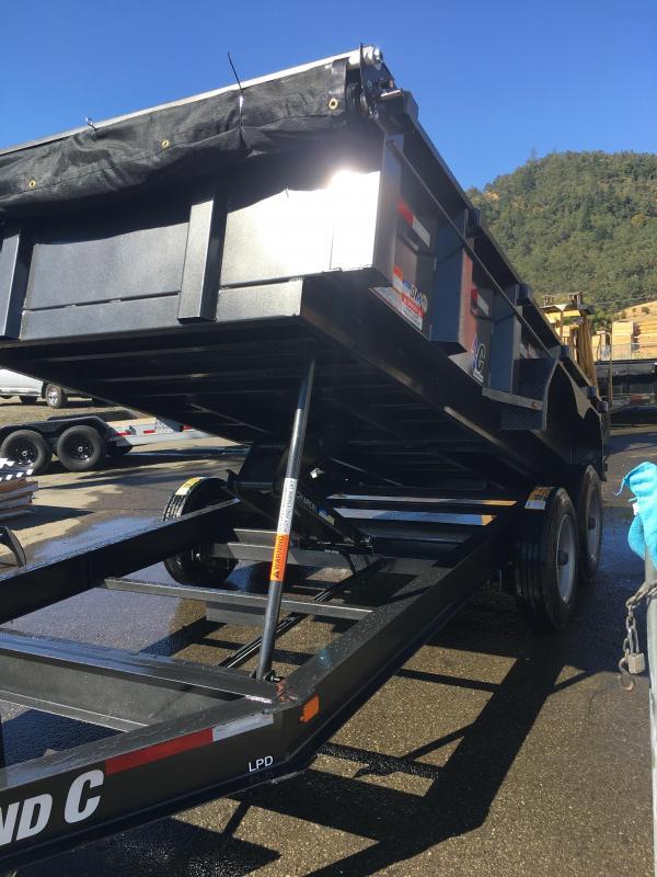 2020 Diamond C Trailers LPD207 82X14 HD LOW PROFILE Dump Trailer