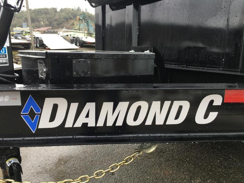 """2022 Diamond C Trailers LPD207 82X14 LOW PROFILE 32"""" sides Dump Trailer"""