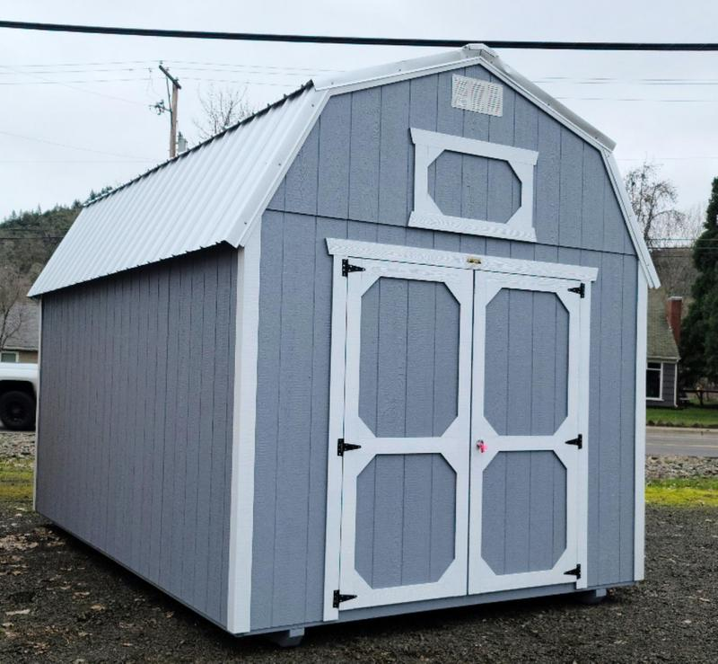2021 Old Hickory 10x16 WLBX LOFTED Barn Shed