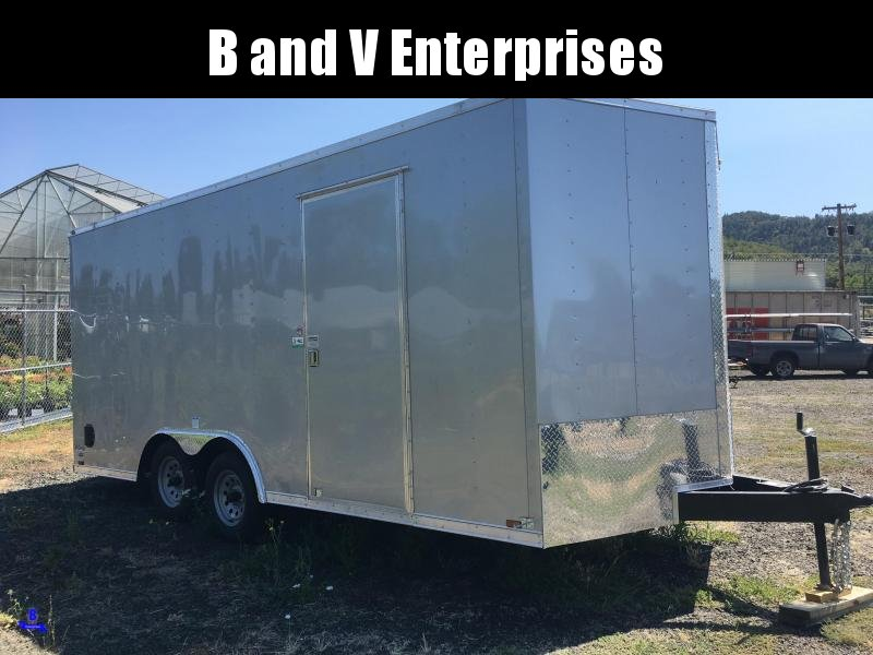 2020 Continental Cargo Car hauler VHW8518TA2 8.5 X 18 Enclosed Trailer