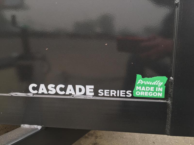 2021 Summit Cascade CU614TA2 6x14 Utility Trailer SOLID SIDES