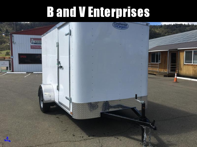 2021 Continental Cargo RM612SA RAMBLER 6X12 Enclosed Trailer